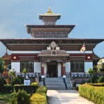 Bhutanese tempel in Bodhgaya © Maarten Olthof