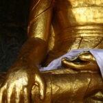 Boeddhabeeld - met Maarten Olthof in Bodhgaya © Harold Pereira