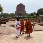 Boeddhistische pelgrimsplaats Sarnath met Maarten Olthof