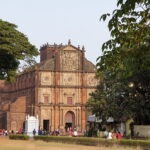 Bom-Jesus basiliek in Goa met Maarten Olthof