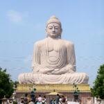 De Boeddha - met Maarten Olthof in Bodhgaya door Harold Pereira