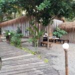 Meditatie zaal bij strandretraite met Maarten Olthof in Goa
