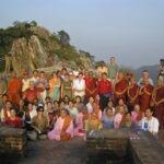 Met Maarten Olthof op de Gierenpiek in India