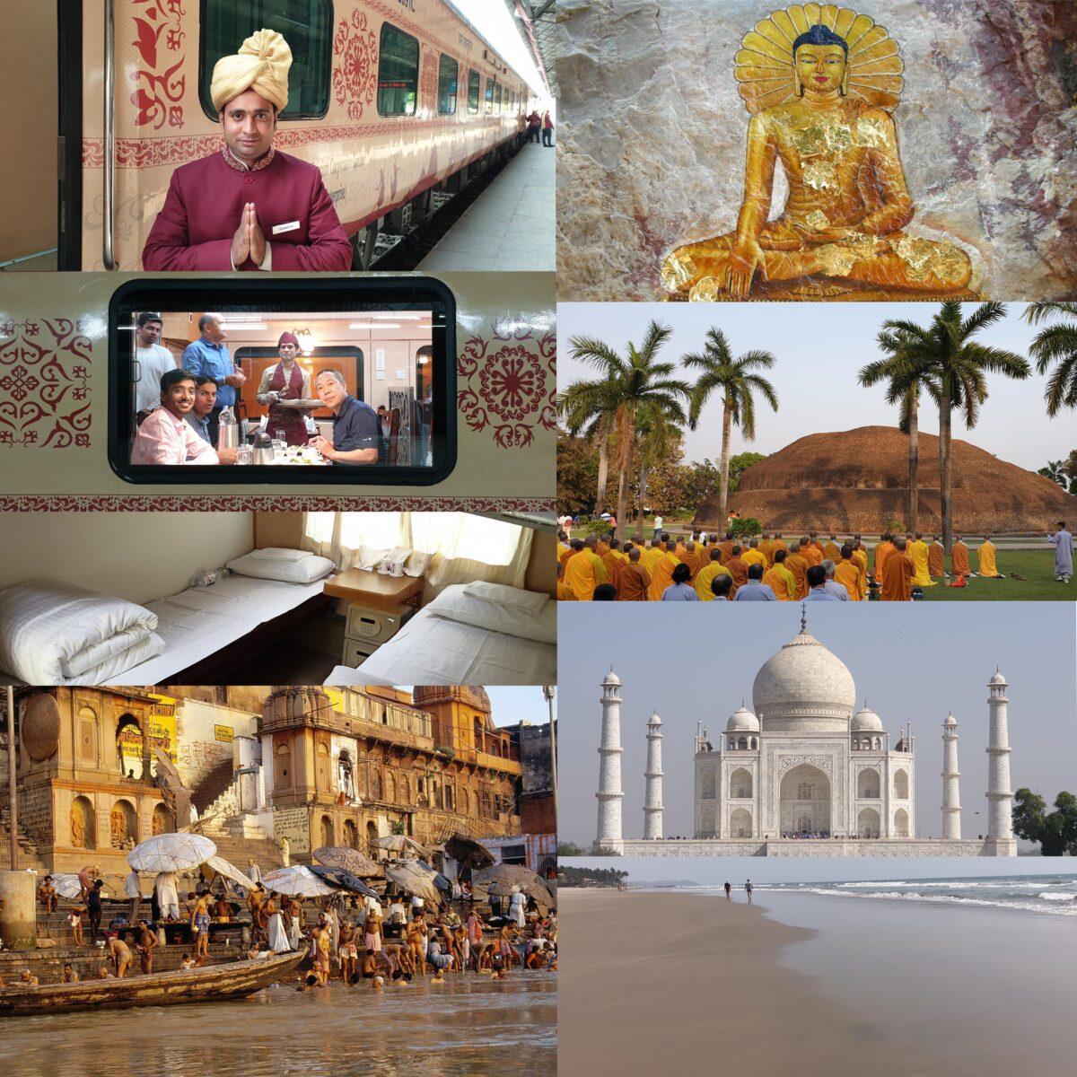 Boeddhistische pelgrimstocht per trein door India en Nepal