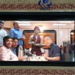 Boeddhistische pelgrimstocht per trein - India en Nepal: restauratiewagon © Maarten Olthof