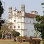 St. Francis of Assisi kerk in Goa met Maarten Olthof