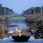 Vredesvlam Lumbini © Maarten Olthof