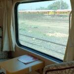 Boeddhistische treinreis India en Nepal: zitje met uitzicht © Maarten Olthof