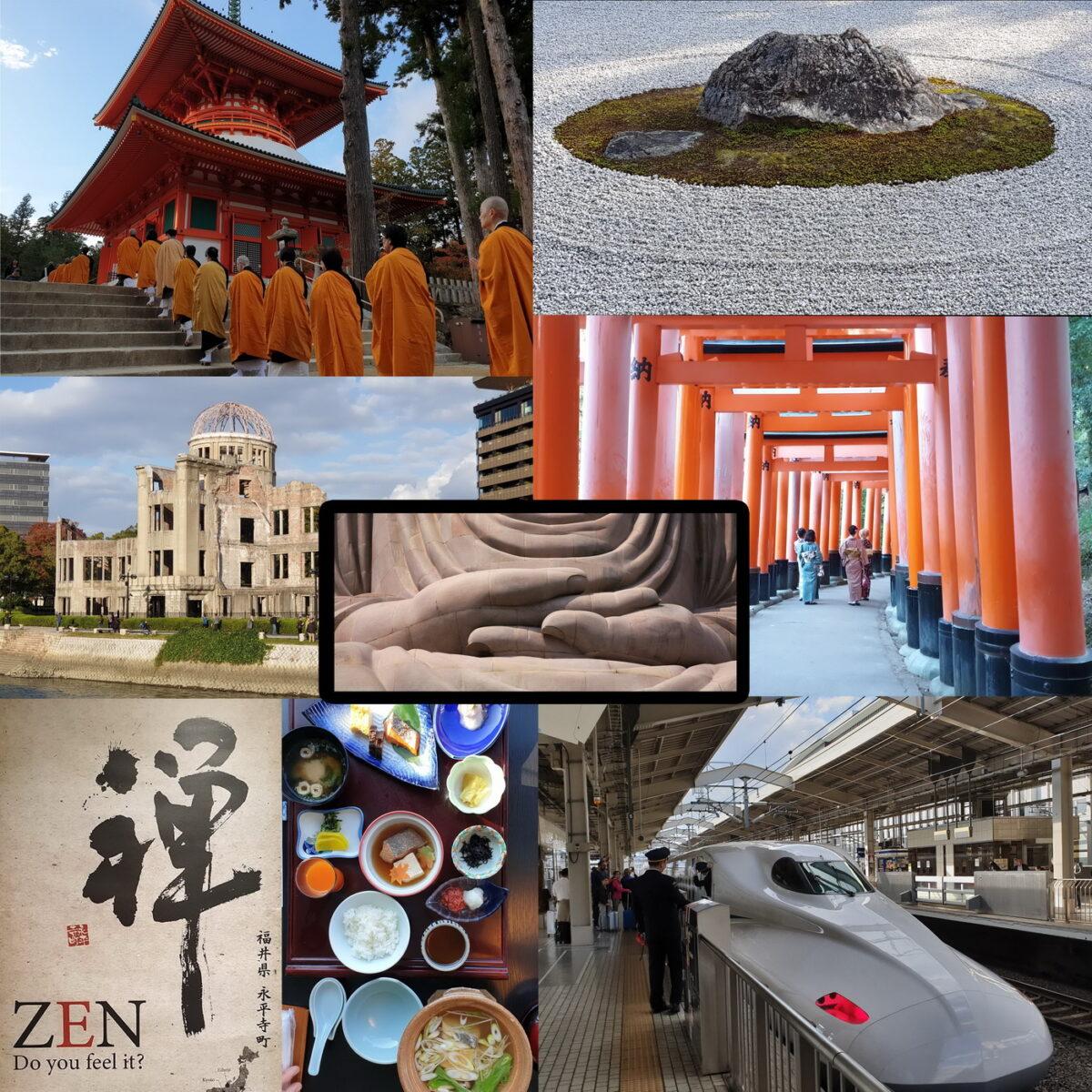 Spirituele reis met de trein door Japan